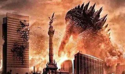 Godzilla destruirá la Ciudad de México para grabar escenas de su nueva película
