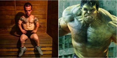 """Él es """"Mini Hulk"""" el fisicoculturista más diminuto del mundo (FOTOS)"""