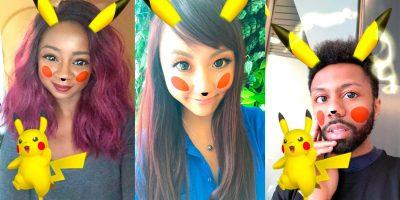 Convertirse en Pikachu es posible gracias a un filtro de Snapchat