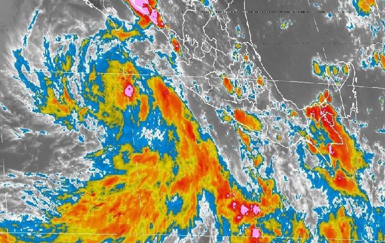 Alertan por tormentas intensas en varios estados del país