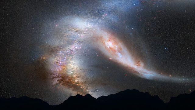 Estudian cómo se comportan estrellas en paso por agujero negro