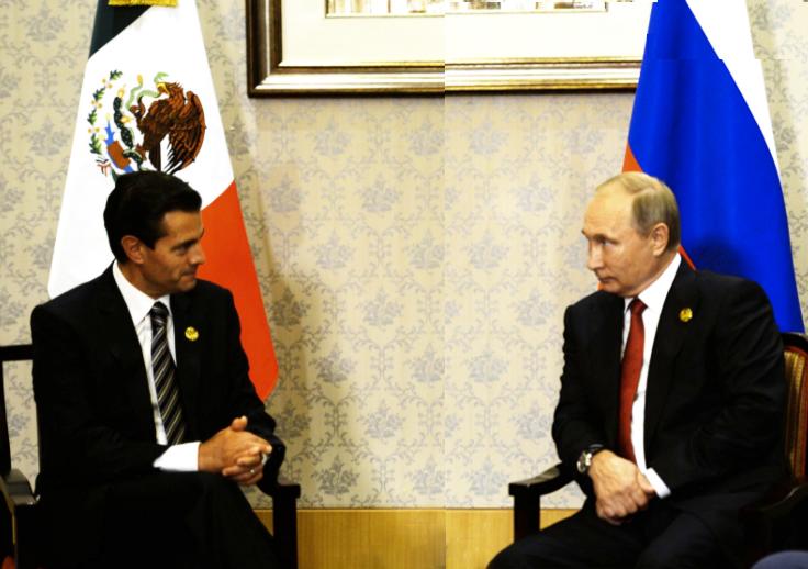 EPN se reúne con Vladimir Putin para hablar sobre Venezuela y Corea del Norte