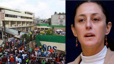 Claudia Sheinbaum revisará los permisos de construcción del 'Rébsamen'
