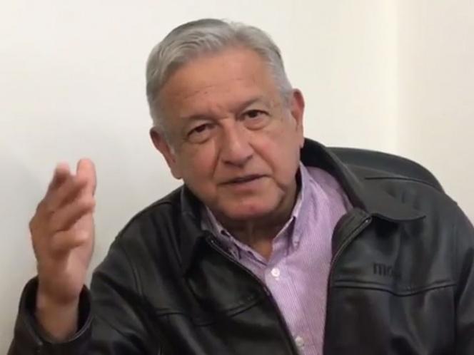 AMLO apoya propuesta del Frente Ciudadano para eliminar financiamiento público