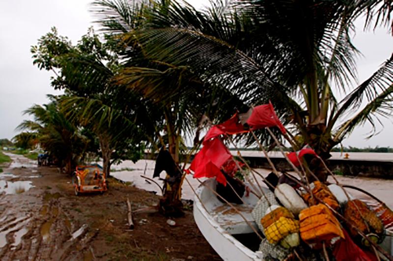 Autoridades reportan dos muertos en Veracruz por huracán Katia