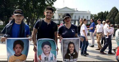 Líderes demócratas acuerdan con Trump protección para dreamers