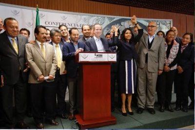 Frente Ciudadano por México propone que partidos donen 100% de sus recursos a damnificados