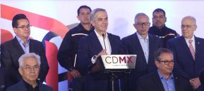 Mancera ofrece discurso en Consejo Nacional del PRD; protestan porque no es militante (Video)