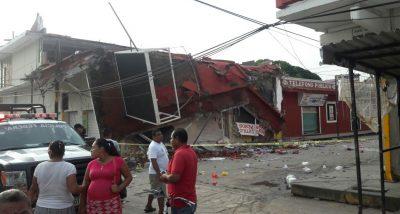 Reportan tres muertos tras sismos de hoy sábado en Oaxaca