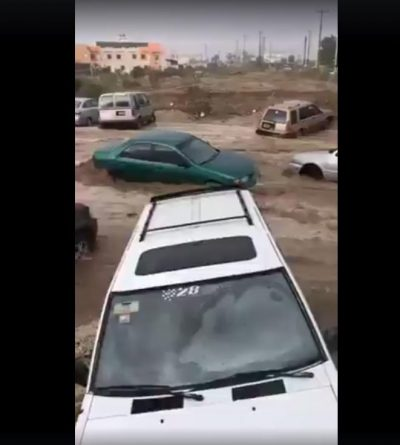 La Tormenta tropical Lidia dejó terribles destrozos en Los Cabos