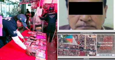 Hombre de la tercera edad es detenido por vender pornografía infantil en Tepito
