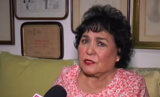 Carmen Salinas culpa del sismo en México a Corea del Norte