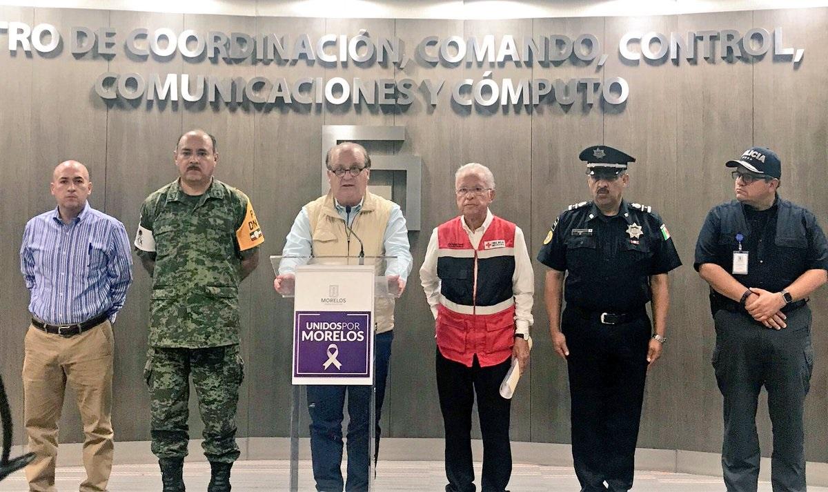 Graco Ramírez dice que en Morelos no hay nada que ocultar con apoyo a damnificados
