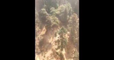 Ciudadanos confirman grieta en Huejotzingo por medio de insólito video