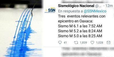 Sismológico Nacional registra cada vez más réplicas tras sismo del 19 de septiembre