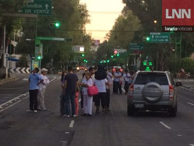 Así despertó la Ciudad de México con alerta y un sismo de 6.1 grados (FOTOS)