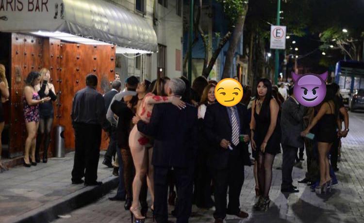 Desalojan table dance y descubren a maridos infieles (FOTO)