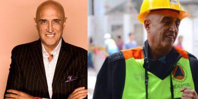 ¿Qué hacía un productor de Televisa con chaleco de Policía Federal tras sismo?