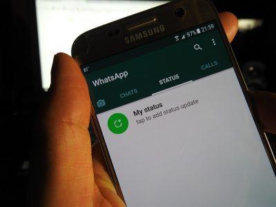 Mensaje de WhatsApp la salvó de morir entre los escombros