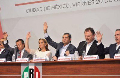¡Oficial!… El PRI ya tiene el método para la elección de su candidato presidencial