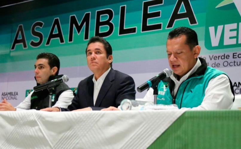 Partido Verde abandona al PRI… irá solo a los comicios del 2018