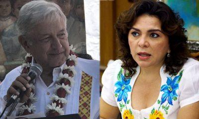 AMLO le aplaude a Ivonne Ortega por no asistir a sesión del PRI