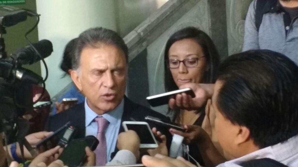 Se ha solicitado ampliar estadía de la policía naval en Veracruz: Miguel Ángel Yunes