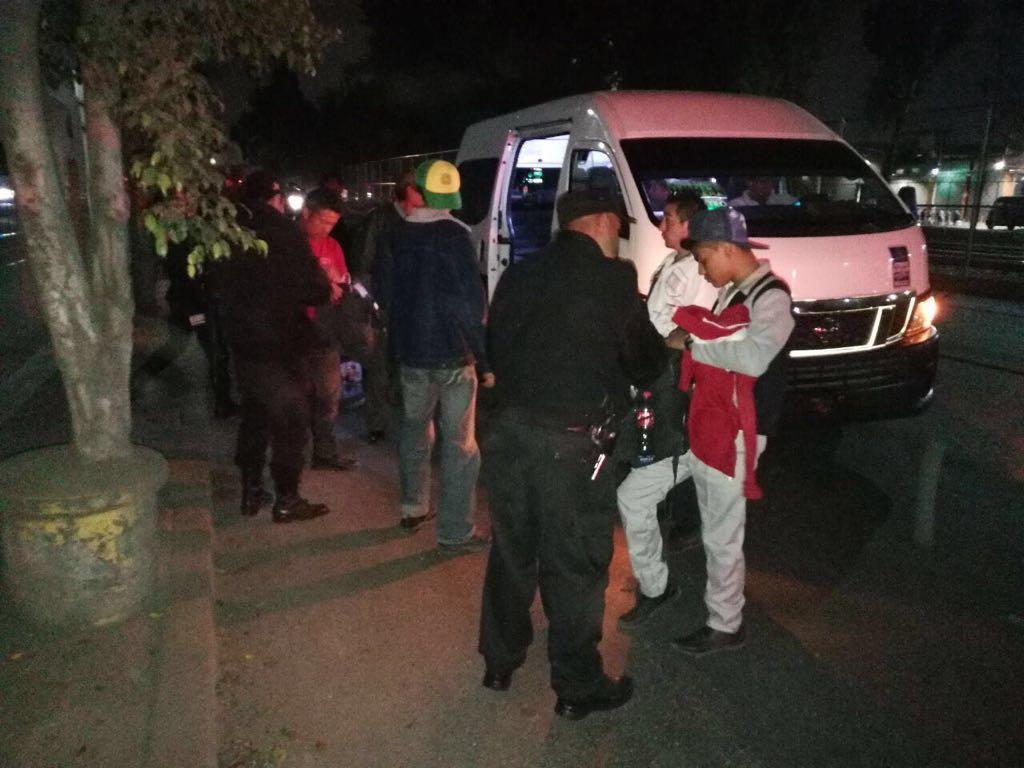 Detienen fuerzas estatales y federales a 16 sujetos en dos operativos en Ecatepec
