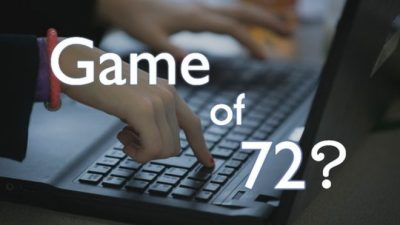 #Gameof72, el peligroso juego que reta a jóvenes a desparecer (VIDEO)