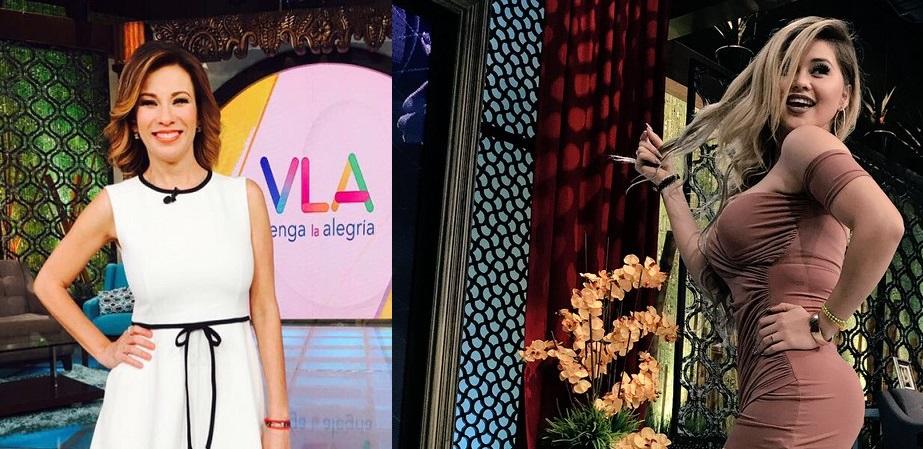 Revelan que Ingrid Coronado teme que Gomita la desbanque en Venga La Alegría