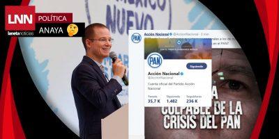 ¿Panistas despedidos hackean Twitter del PAN o fue el PRI?
