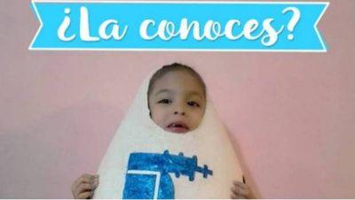 San Juan anuncia que encontró a la niña que se disfrazó de huevo