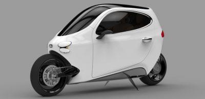 El coche-moto será lanzado al mercado lo más pronto posible