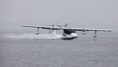 Desarrollan el primer dron anfibio en el mundo
