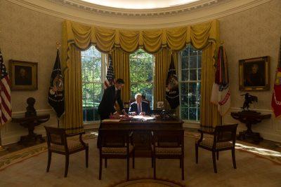 Trump asegura que Twitter lo lanzó a la presidencia