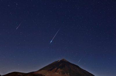 La lluvia de estrellas se podrá ver en México a partir de la medianoche