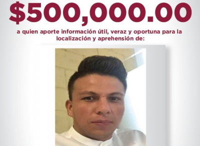 FGJ ofrece medio millón de pesos por información sobre asesino de Tultepec