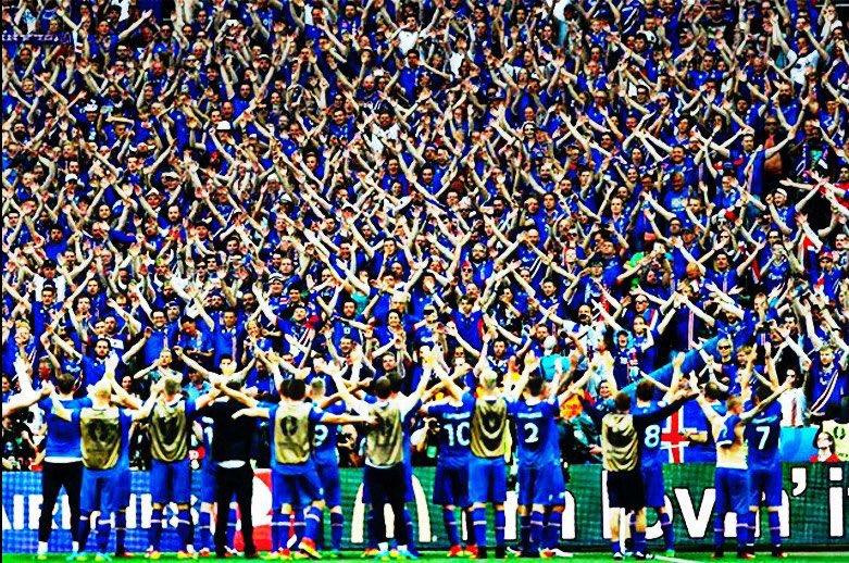 Esta fue la increíble celebración de Islandia tras clasificar al mundial de Rusia 2018