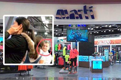 Martí prohíbe beso grabación de un beso gay para una serie en una de sus tiendas