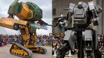 Japón se enfrentará a Estados Unidos en pelea de robots gigantes