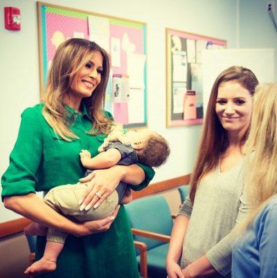 ¡Melania Trump podría estar embarazada! (FOTO)