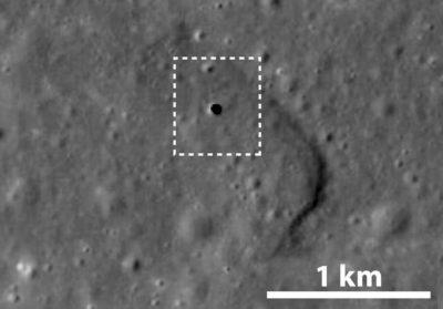Satélite japones descubre una posible base lunar