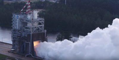 La NASA prueba motor cohete que llevará al hombre a Marte (VIDEO)