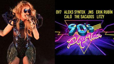 Paulina Rubio se une a los 90´s Pop Tour, lo anuncian mediante unas divertidas imágenes (VÍDEO)