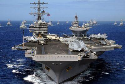 El portaviones Ronald Reagan de EE.UU se dirige a la península coreana