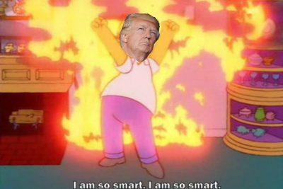 """""""Soy una persona muy inteligente"""": Donald Trump"""