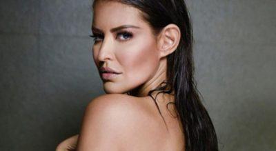 Vanessa Claudio intimida a todos con su sensual topless en su bañera