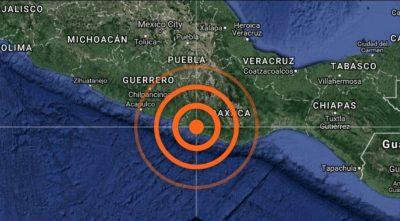 Reportan nuevo sismo en Oaxaca de magnitud 5.1 grados