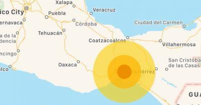 Nuevo sismo de magnitud 5.5 provoca evacuación; epicentro cerca de Juchitán, Oaxaca