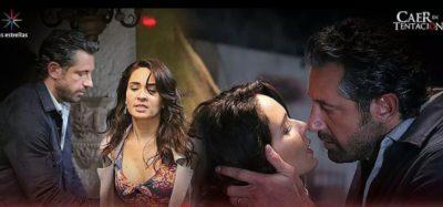 Censura erótica escena de la telenovela 'Caer en tentación' (VIDEO)